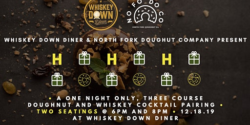 Whiskey Down Doughnut and Cocktail Pairings with NoFoDoCo!