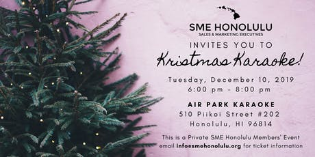 SME Honolulu Holiday Party tickets