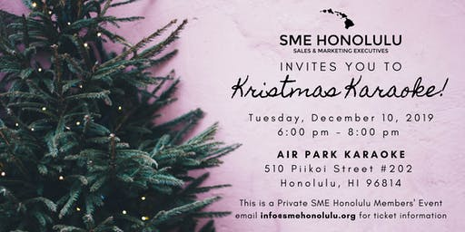 SME Honolulu Holiday Party