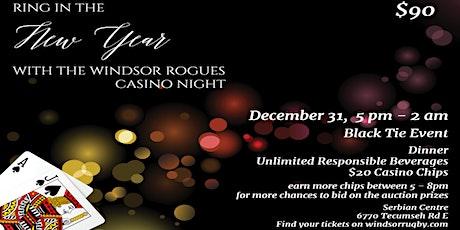 Rogues Black Tie Casino Night tickets