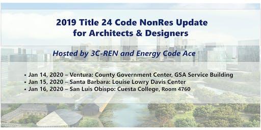 Technical Series:  2019 Title 24 Code Update-San Luis Obispo
