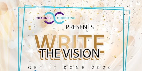 Write the Vision - Get it Done 2020! tickets