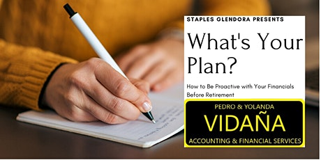 What's Your Plan? How to Be Proactive with Your Finances Before Retirement tickets