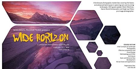 Wide Horizon Landscape Photography Masterclass tickets