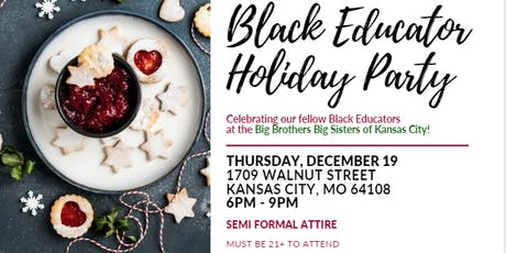 Elements and BLOC Black Educator Holiday Party tickets