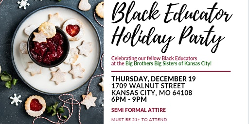 Elements and BLOC Black Educator Holiday Party