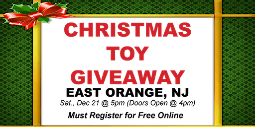 Christmas Toy Giveaway - 2019