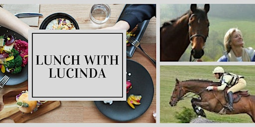 Off The Track presents Lunch with Lucinda Green