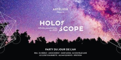 Artélixir- HOLOSCOPE -party du 31 décembre