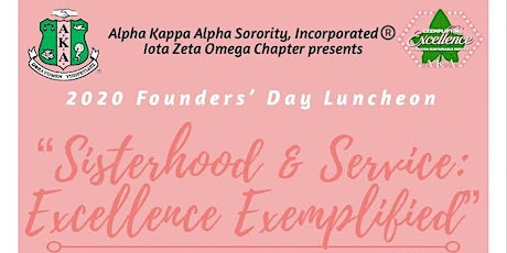 2020 AKA Iota Zeta Omega Founders' Day Luncheon tickets
