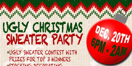 Ugly Christmas Sweater Party at The Reveler tickets