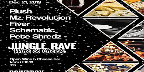 Jungle Rave Wine & Cheese Xmas tickets