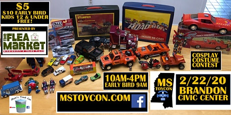 MS ToyCon tickets