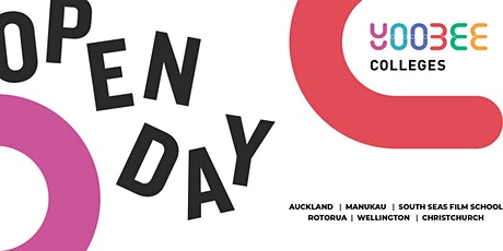 OPEN DAY | Yoobee Colleges - South Seas Film School Campus tickets