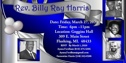 70th Birthday Celebration for Rev. Billy Ray Harris