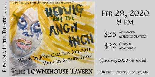 Hedwig and the Angry Inch - Saturday