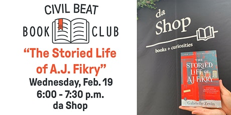 "Civil Beat Book Club Discussion: ""The Storied Life of A.J. Fikry"" tickets"