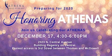 Honoring ATHENAs tickets