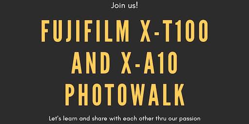 Fujifilm XT100 and XA10 Photowalk