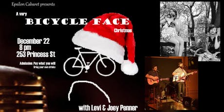 A Very Bicycle Face Christmas tickets