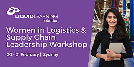 Women in Logistics & Supply Chain Leadership Workshop Sydney tickets