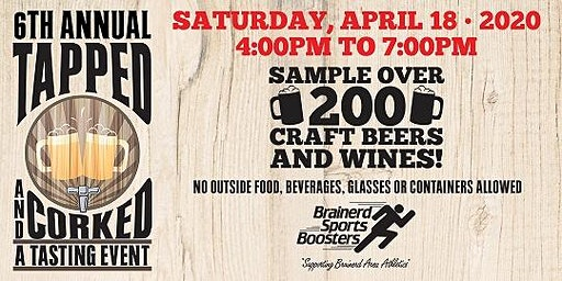 Tapped and Corked - 6th Annual Tasting Event