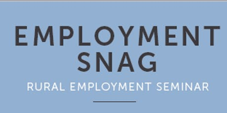 Employment Snag tickets