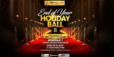 END OF YEAR HOLIDAY BALL tickets
