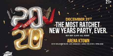 NYE Extravaganza at Arena K-Town tickets