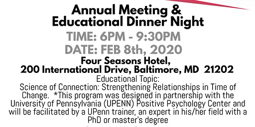 Annual Meeting and Family Educational Dinner Night