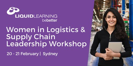 Women in Logistics & Supply Chain Leadership Workshop Melbourne tickets