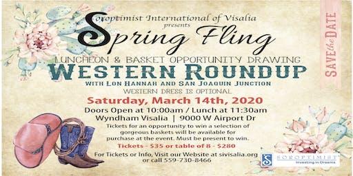 Soroptimist International of Visalia Presents Spring Fling 2020