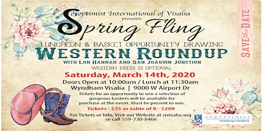 Soroptimist International of Visalia Presents Spring Fling 2020