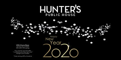 Hunter's NYE 2020 tickets