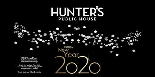 Hunter's NYE 2020
