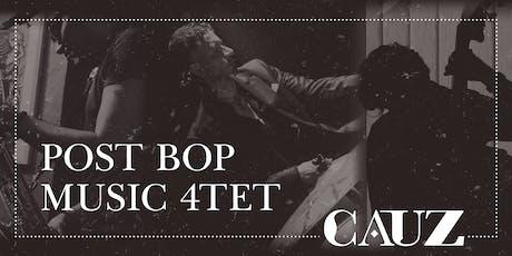 Post Bop Music 4Tet entradas