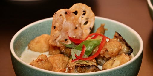 Pay what you feel the dish is worth - Our vegan Thai-inspired five course dinner