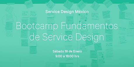 Bootcamp Fundamentos de Service Design boletos
