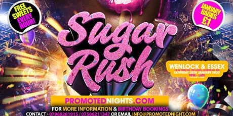 SUGAR RUSH: The Launch Party tickets