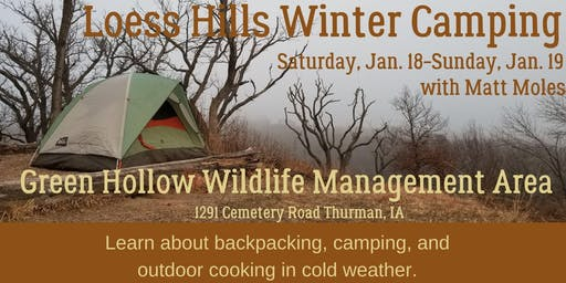 Loess Hills Winter Camping