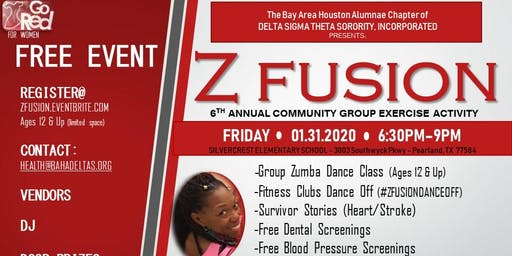 Go Red for Women - ZFusion Group Exercise Activity