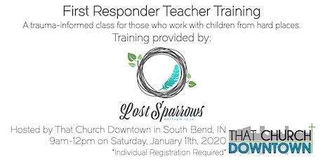 First Responder Teacher Training by Lost Sparrows tickets