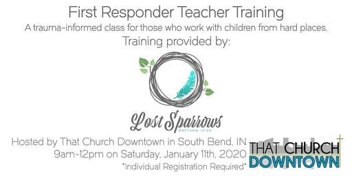 First Responder Teacher Training by Lost Sparrows