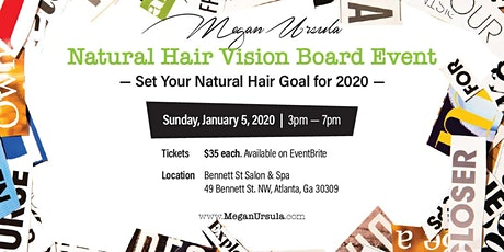 Natural Hair Vision Board Event tickets