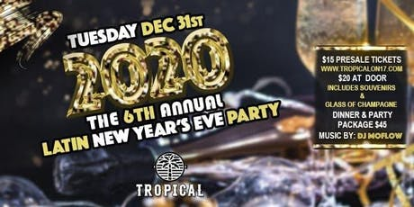 NYE Mexican Dinner & Party tickets