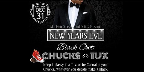 NYE 2020 Blackout Chucks or Tux tickets