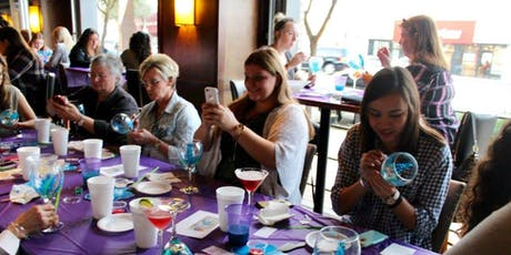 Wine Glass Painting class at Halcyon Mueller 12/18 @ 7pm tickets