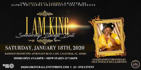 2020 I AM KING Scholarship Benefit Ball tickets