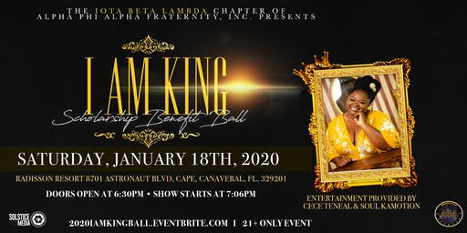 2020 I AM KING Scholarship Benefit Ball
