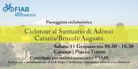 Ciclotour al Santuario di Adonai: Catania/Brucoli/Augusta biglietti